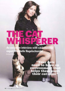 The Cat Whisperer for Modern Cat Magazine