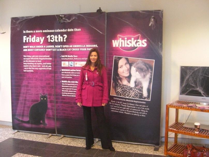 Cat Behaviorist Mieshelle Nagelschneider for Whiskas