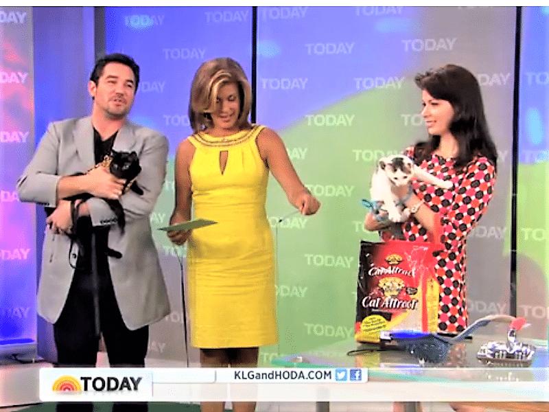 Cat Behaviorist Mieshelle Nagelschneider on The Today Show
